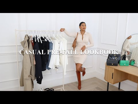 CASUAL & CHIC PRE-FALL OUTFITS 2021 | TRANSITIONAL FALL OUTFITS LOOKBOOK | NOORIE ANA