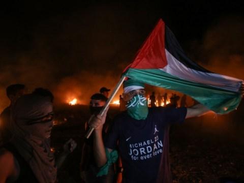 จลาจลหลายร้อยคนในเวสต์แบงก์ กรุงเยรูซาเลม สนับสนุนนักโทษหลบหนี