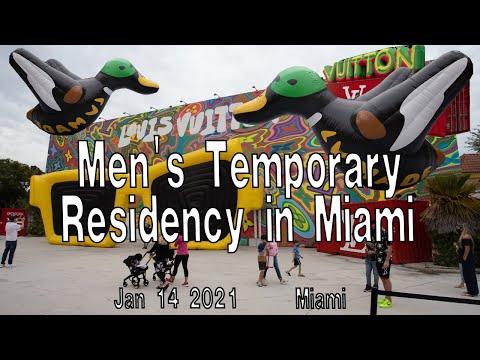 LOUIS VUITTON |  Временное проживание для мужчин в Майами (выставка Louis Vuitton Spring Summer Men's New Outdoor – Майами 2021, США)