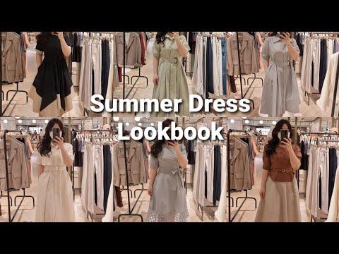 Lookbook 新款夏季连衣裙一起选购 | 一品牌店抢劫|  66 码丰满协调 Lookbook 夏季连衣裙套装