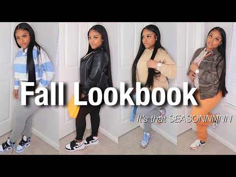 FIRST FALL LOOKBOOK : Chill Fits  ( FOREVER21 , STOCKX , PRETTYLITTLETHING ) 🍂
