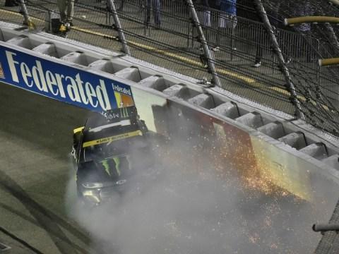 브리스톨 진입 NASCAR 컵 시리즈 플레이오프 사진