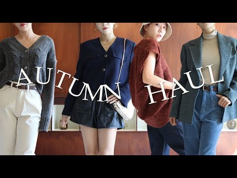 Autumn Fashion Howl🍁 New COS course.  Celine st autumn jacket. autumn knit.  Cream dress. Awesome autumn shopping 🍂 Includes cost-effective items!