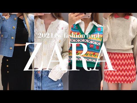 Sub) Zara's Fall Fashion Howl    Try on new clothes, Zara autumn new products, zara fw, zara2021, spa brand haul, fashionhaul, Zara lookbook, lookbook
