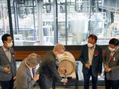 """Kyochon F&B meluncurkan bisnis bir kerajinan dengan sungguh-sungguh… """"Pembukaan pabrik bir kerajinan Pembuatan Bir Beruang Bulan"""""""
