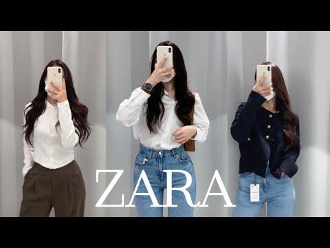 ZARA Осень / Зима Новинка 🍂 |  Шикарно и модно смотрятся только красивые изделия 🖤 |  пальто, твид, трикотаж, джинсы, сапоги |  ZARA модный улов |  Nueroo
