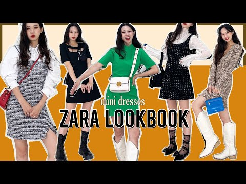 [ZARA] Designer's recommended luxury st Zara 5 new dresses 🌹 Short girl's Zara Shopping Howl💖👗
