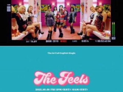Single Inggris pertama TWICE 'The Feels' akan dirilis pada 1 Oktober