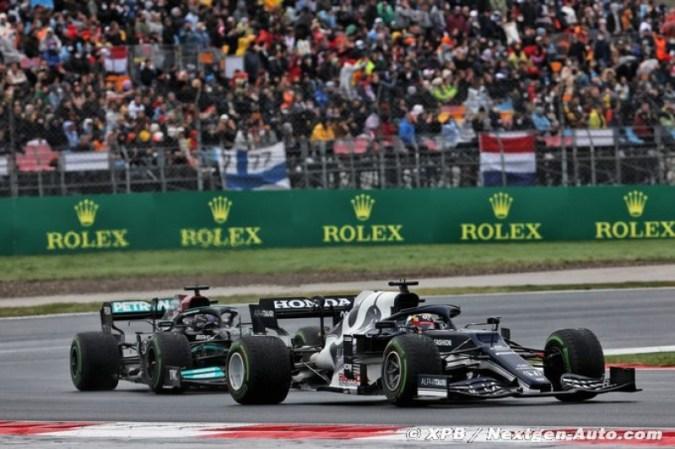 Tsunoda a tot fait pour garder Hamilton derrière lui à Istanbul