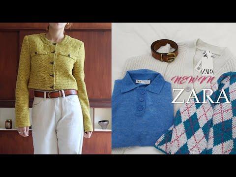[ZARA] Between autumn and winter🍁Zara's new outerwear collection zip.  Cute cardigan.  Beige dress✳️ KASSL Castle Zara collaboration.  Various fashion lookbooks✨