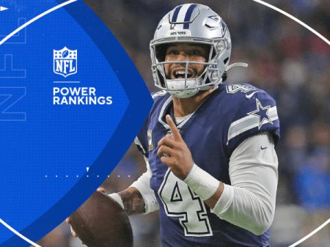 NFL 6주차 파워 랭킹: 스트라이킹 카우보이가 슈퍼볼 경쟁자로 상승하고 있으며, 치프는 계속 하락하고 있습니다.
