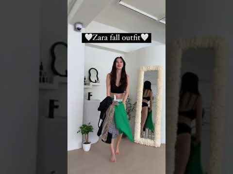 试穿Zara 为矮个子女孩设计的新款秋季连衣裙🎀🎀🎀 #zara #Zara 一件式#秋季新款#矮个子女孩装