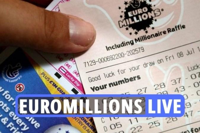 EuroMillions 복권 결과 최신 – 절대적으로 엄청난 1억 8,200만 파운드의 잭팟이 내일 당신을 Adele보다 더 부자로 만들 것입니다