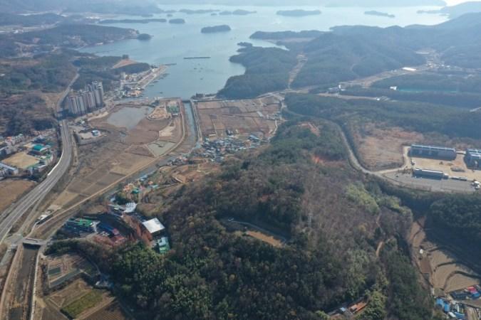 Goseong-gun 'Manrimsan Toseong', ditetapkan sebagai properti budaya Gyeongnam-do pertama sebagai Benteng Gaya