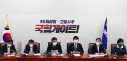 [포토] พรรคประชาธิปัตย์เกาหลีจัดประชุมมาตรการตอบโต้การตรวจสอบของรัฐบาล