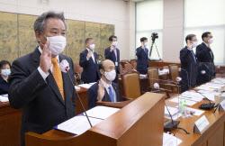 [포토] ลี คีฮึง ประธานสภากีฬาแห่งเกาหลี ให้คำปฏิญาณตน